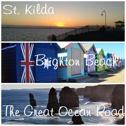 St. Kilda, Brighton Beach and The Great Ocean Road